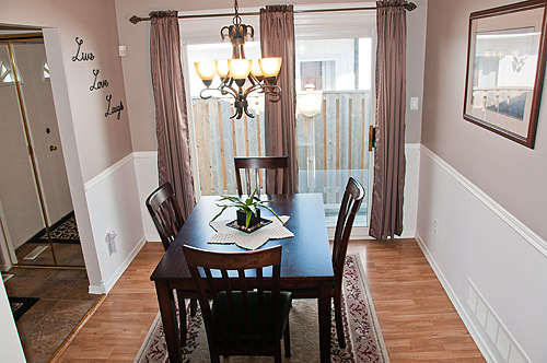 1195 Oxford St., Oshawa - Dining Room