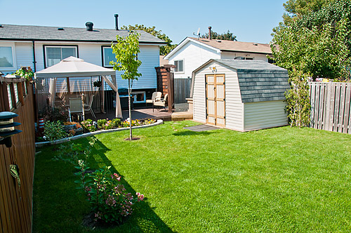 1195 Oxfors St., Oshawa - Private Back Yard