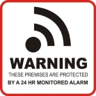 Real Estate With Carmine - Alarm Sticker