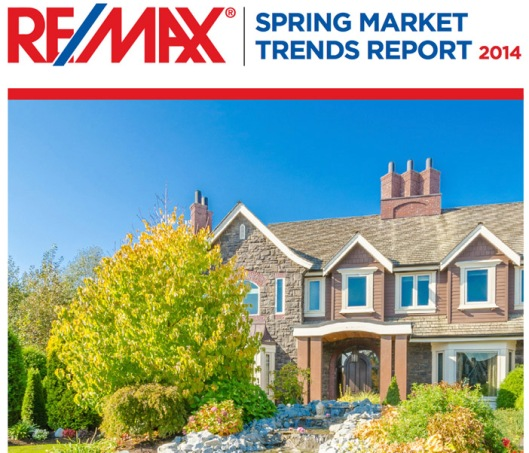 Re/Max Spring Market Trends Report 2014