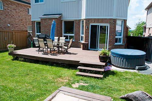 1533 Clearbrook Dr., Oshawa - Back Yard