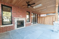 715 Hickory St. North, Whitby - Covered Patio